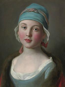 Portrait of lady Pietro Antonio Rotari by MotionAge Designs