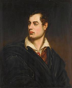 Portrait Of Lord Byron by MotionAge Designs
