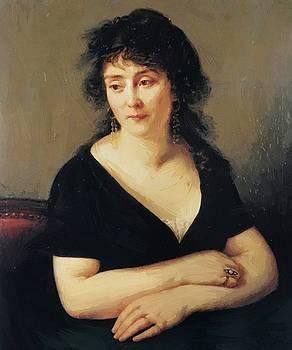 Portrait Of Madame Bruyere 1796 by Gros AntoineJean