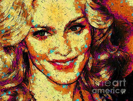 Portrait of Madonna by Zedi