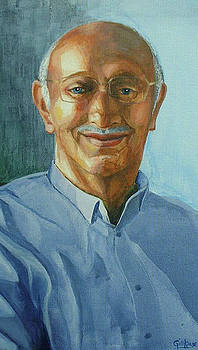 Portrait Of Man by Gill Kaye