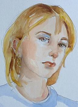 Portrait of Mara by Janet Butler