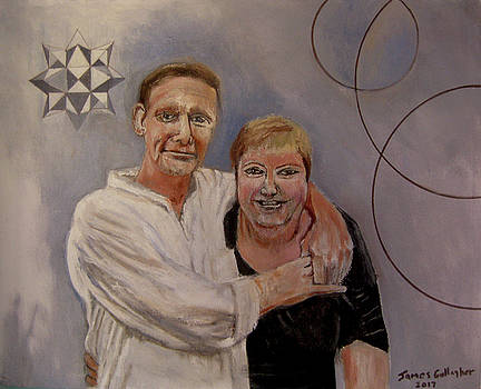 Portrait Of Marianna And Ken by James Gallagher