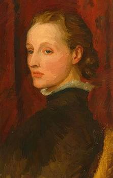 Watts George Frederick - Portrait Of Mary Fraser Tytler Afterwards Mary Seton Watts 1887