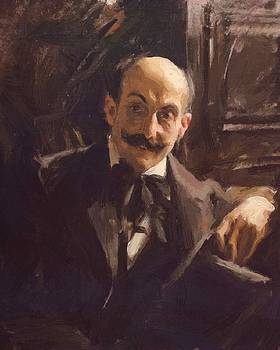 Zorn Anders - Portrait Of Max Liebermann 1891