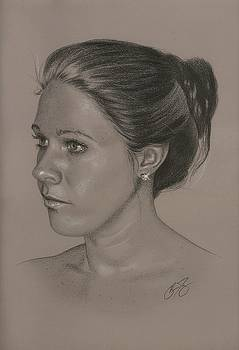 Portrait of Melissa by Brian Duey
