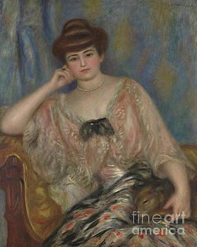 Portrait of Misia Godebska-Sert by Pierre Auguste Renoir