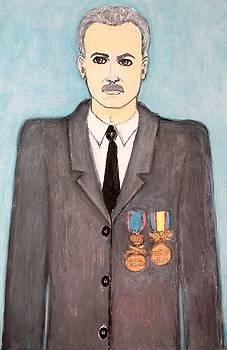 Portrait Of My Father  by Elena Buftea