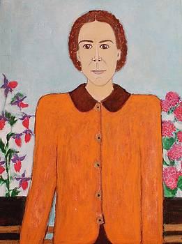 Portrait Of My Mother by Elena Buftea