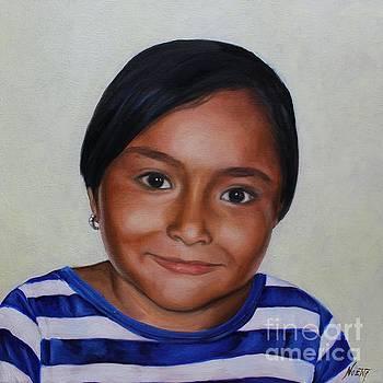 Portrait of Natasha by Jindra Noewi