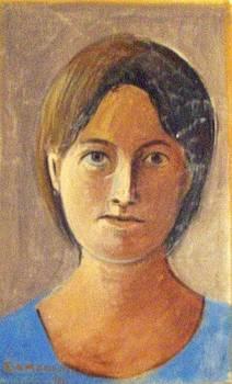 Portrait of N.R by George Siaba