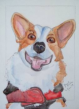 Portrait of Pebbles by Janet Butler