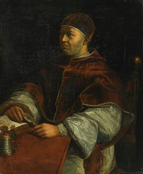 Portrait Of Pope Leo X by MotionAge Designs