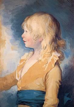 West Benjamin - Portrait Of Prince Octavius 1783