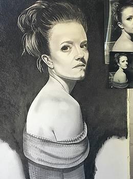 portrait of Rhayne by Rhondda Saunders