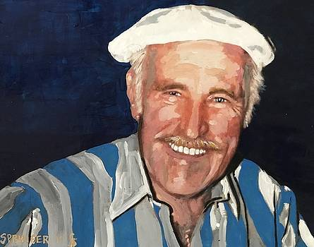 Portrait of Richard Levine by Gary Springer