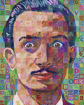 Portrait Of Salvador Dali by Randal Huiskens