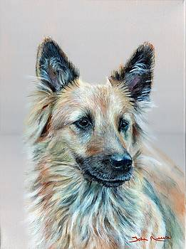 Portrait of Sasha by John Neeve