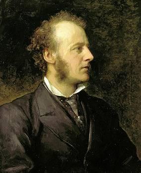Watts George Frederick - Portrait Of Sir John Everett Millais 1871