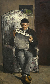 Paul Cezanne - Portrait of the Artists Father