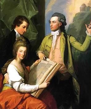West Benjamin - Portrait Of The Drummond Family 1781