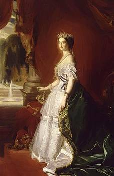 Winterhalter Franz Xaver - Portrait Of The Empress Eug Nie