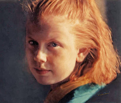 Portrait of the Girl Who is Precocious by Chas Sinklier