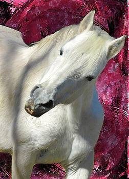 Portrait Of The Stallion by Patricia Keller