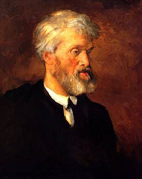 Watts George Frederick - Portrait Of Thomas Carlyle