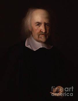 Portrait of Thomas Hobbes by John Michael Wright