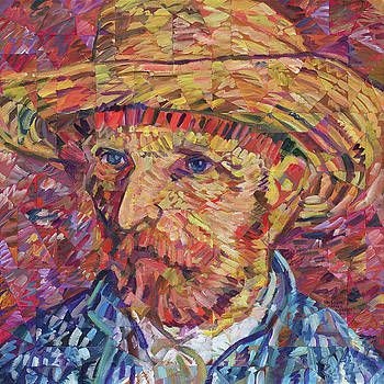 Portrait Of Vincent Van Gogh by Randal Huiskens