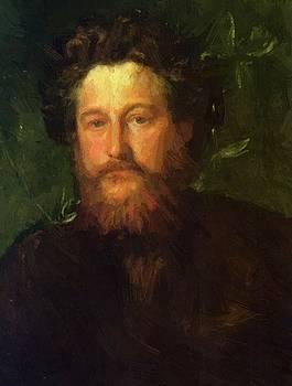 Watts George Frederick - Portrait Of William Morris 1870