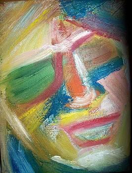 Portrait Of Woman 2 by Ivana  Egic