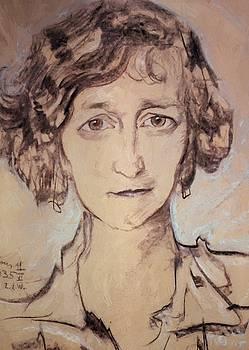 Witkiewicz Stanislaw Ignacy - Portrait Of Zofia Romer 1935