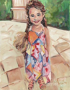 Portrait Painting by Maria's Watercolor