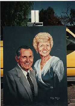 Portrait Painting by Rebecca Steelman
