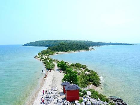 Portrait Round Island Michigan by Mikel Classen