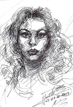Portrait Sketch  by Ylli Haruni