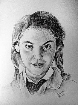 Portrait - Sofie by Somnath Kundu