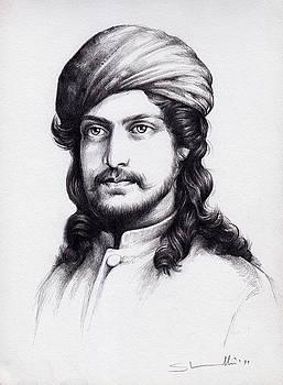Portrait Study-02 by Abu Kalam  Shamsuddin