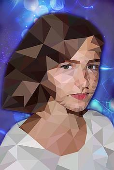 Portrait by Tatiana Tyumeneva