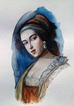 Portrait by Valeriya Temnenko