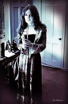 Joan  Minchak - Portrait with Candle