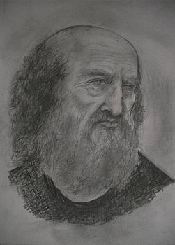 Portret De Batran by Covaliov Victor