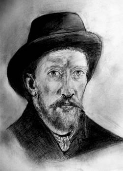 Portret Vincent Van Gogh by Covaliov Victor