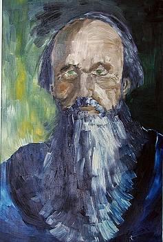 Portretul lui Vladimir Stasov by Ciocan Tudor-cosmin