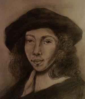 Portretul Unui Tanar by Covaliov Victor