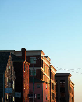 Portsmouth Deer Street Sunset by Eric Gendron