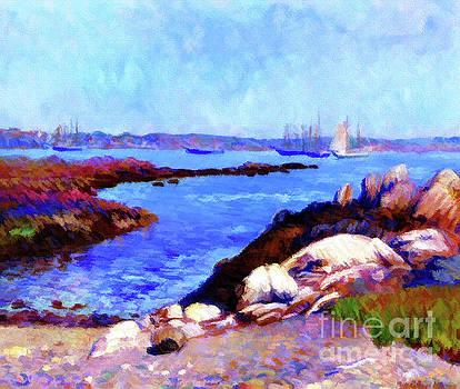 Portsmouth Harbor N.H. by D Fessenden