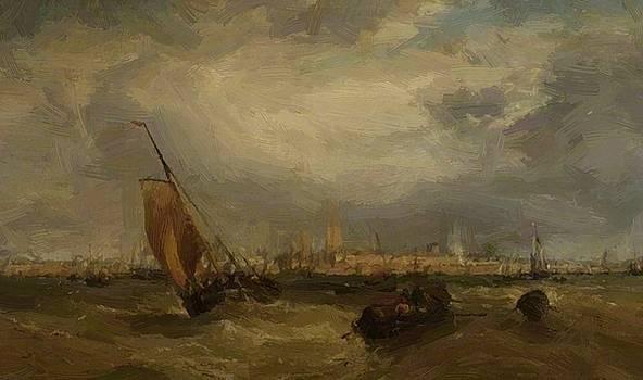 Webb James - Portsmouth Harbour 1872